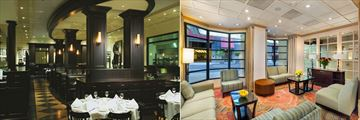 The Handlery Union Square Hotel, Daily Grill Restaurant and Lobby Alcove
