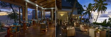 The Hilton Seychelles Northolme Resort & Spa, Hilltop Restaurant and Les Cocotiers