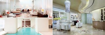 The Ritz-Carlton Toronto, Spa My Blend by Clarins Relaxation Lounge, Reception and Indoor Pool