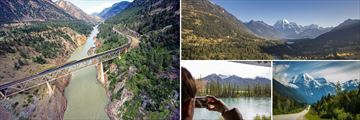 Incredible views from The Rocky Mountaineer