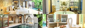 The Shore at Katathani, Pool Villa Bedroom, Bathroom, Seating Area, Exterior and Pool