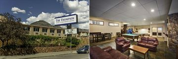 The Thompson Hotel, Kamloops, Exterior and Lounge - Games Room
