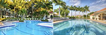 The Westin Cape Coral Resort at Marina Village, Lagoon Pool and Lap Pool