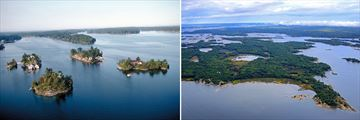 Beautiful Thousand Islands scenery