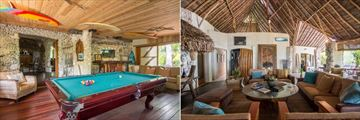 Tikehau Ninamu Resort, Snooker Table and Lounge Areas
