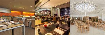 Chilli, Pepper's Steakhouse and Oregano at Tivoli Marina Vilamoura