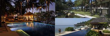 Spa Village Resort Tembok pool and gardens