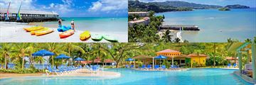 St James Club Morgan Bay water sports and pool