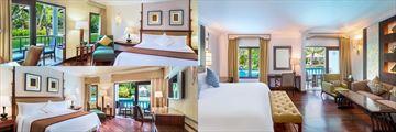 The Laguna Bali Resort & Spa, Deluxe Garden View, Deluxe Lagoon Access and Deluxe Studio