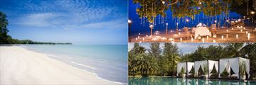 The Sarojin Beach, Private Dining & Swimming Pool, Khao Lak