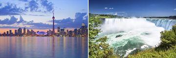 Toronto Skyline & Niagara Falls, Ontario