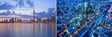 Toronto Skyline & Aerial view of Cityscapes