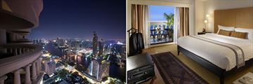 Tower Club at Lebua Luxury Two Bedroom Riverview Balcony
