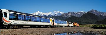 The TranzAlpine in New Zealand