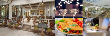 Dining Options at Treasure Beach by Elegant