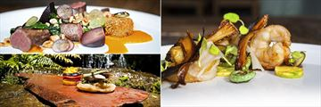 Treetops Lodge & Estate, Venison, Clearwater Red Crayfish and Wild Food Cooking School