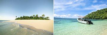 Tropical Fiji Island & Dive Boat