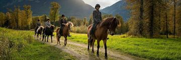 Horse Riding at Tweedsmuir Park Lodge