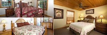 A Selection of Cottage Bedrooms at Tween Waters Inn Island Resort
