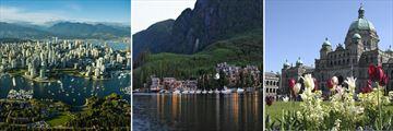 Vancouver, Sonora Resort & Victoria