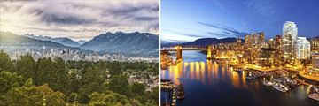 Vancouver Skyline Views, British Columbia