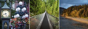 Gastown, Suspension Bridge & Stanley Park, Vancouver