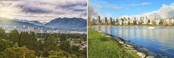Vancouver Park & Skyline views