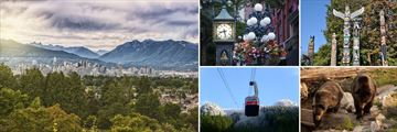 Vancouver Skyline, Gastown, Stanley Park & Grouse Mountain