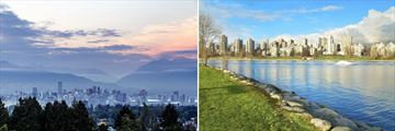 The landscapes & scenery of Vancouver