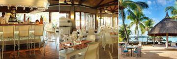 Veranda Grand Baie Hotel & Spa, Dining Venues