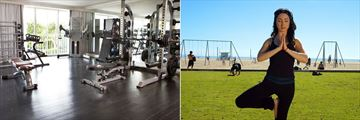 Fitness Centre and Yoga at Viceroy Santa Monica