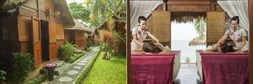 Victoria Phan Thiet, Spa Exterior and Treatment Room