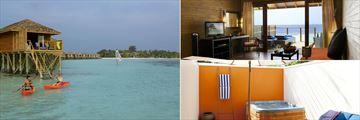 Vilamendhoo Island Resort & Spa, Villa Jacuzzi Water Villa