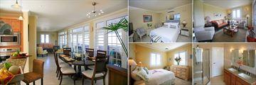 Villa Paradisso, Dining Area, Bedroom, Living Room, Bathroom and Bedroom