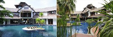 Villa Samadhi, Lagoon Pool