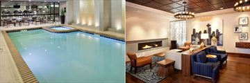 Warwick Hotel, Indoor Pool & Fitness Centre and Lounge