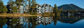 Water's Edge Shoreside Suites, View from Ucluelet Harbour