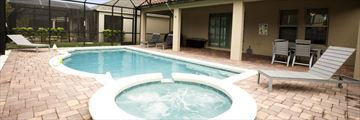West Haven Homes, Pool and Jacuzzi