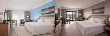 Deluxe King Guestroom and Executive Club Room at The Westin Dragonara