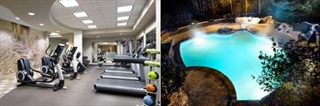 Westin Resort & Spa Tremblant, Fitness Studio and Pool
