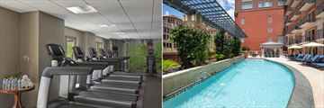 Fitness Centre and Pool at Westin Riverwalk