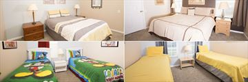 Windsor Palms Resort Homes, Bedrooms