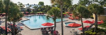 Pool and Grounds at Wyndham Orlando Resort