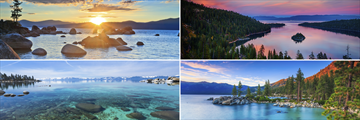 Views of Lake Tahoe, California