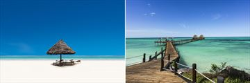 Zanzibar beach & jetty
