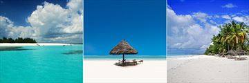 Zanzibar beach scenery
