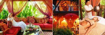 Zazen Boutique Resort, Le Spa Zen Relaxing Sala, Reception and Treatment Room