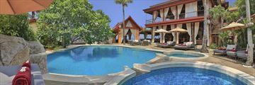 Zazen Boutique Resort, Zazen Restaurant and Pool