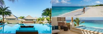 Zemi Beach House Resort & Spa, Pool, Beach and Beachfront Villa Suite Terrace