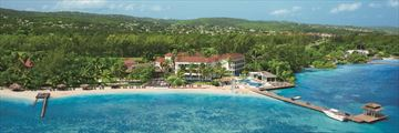Zoetry Montego Bay, Aerial View of Resort